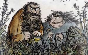 Il signore e la signora Sporcelli, Illustrazione di Quentin Blake, edizioni salani