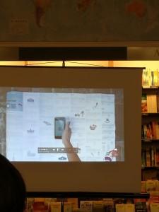 Durante la presentazione un video ha mostrato come funziona la mappa Parante